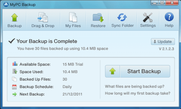 mypc backup - MypcBackup In Depth Editorial Review & Ratings