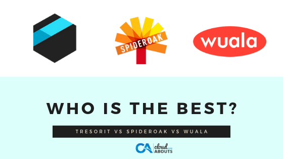 Tresorit vs SpiderOak vs Wuala