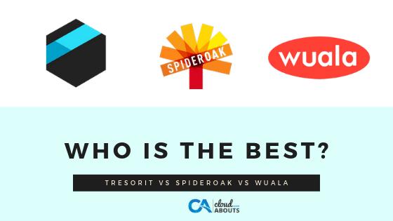 Tresorit vs SpiderOak vs Wuala - Which One Is Worth Buying?
